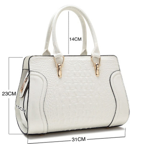 Luxury Design Stone Pattern Handbag