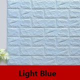 Self Adhesive Brick Wall Stickers Waterproof Wall Covering