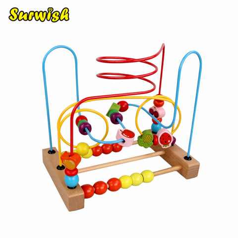 Wire Maze Roller Coaster Early Educational Toy