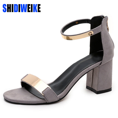 Summer Gladiator Ladies High Heel Sandals