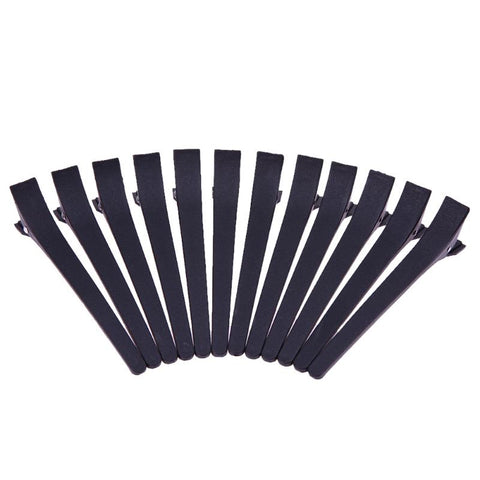 Black Hairpin Salon Clips