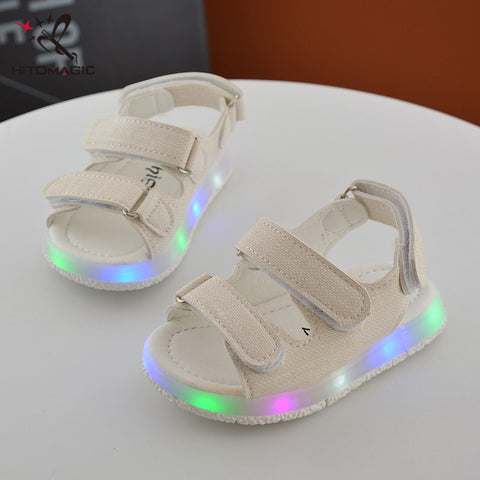 Baby Sandals with Glowing Lights