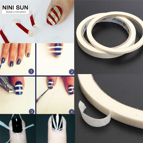 Manicure Nail Tape Stickers