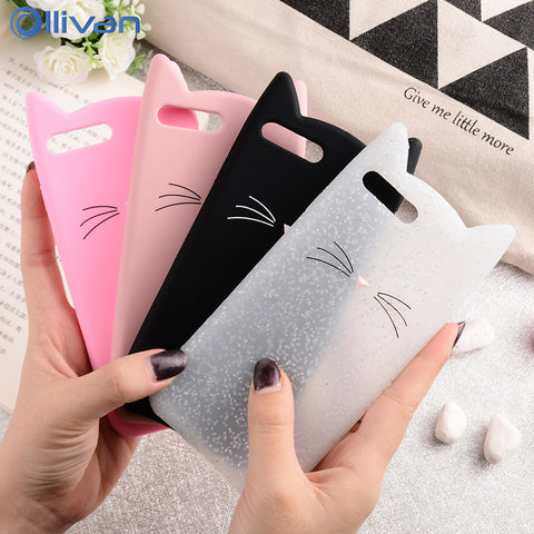 Cat Phone Silicone Case