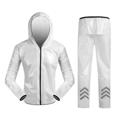Biker Jacket and Pants Outdoor Cycling Rain Suit