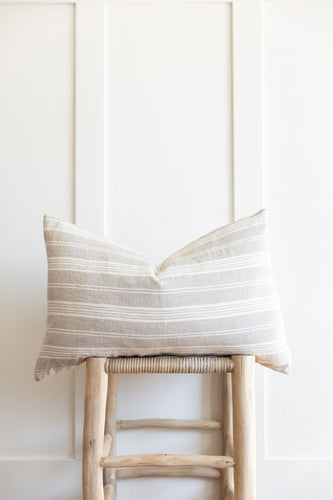 14x24 Linen Lumbar Pillow Cover