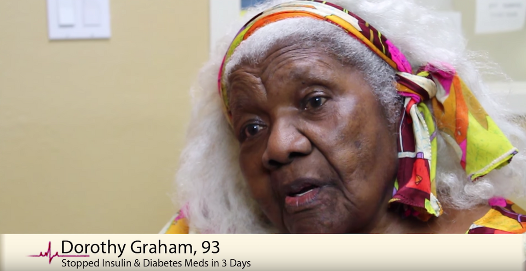 How a Lady Reversed Her Diabetes and Lost 160 Pounds at Age 93