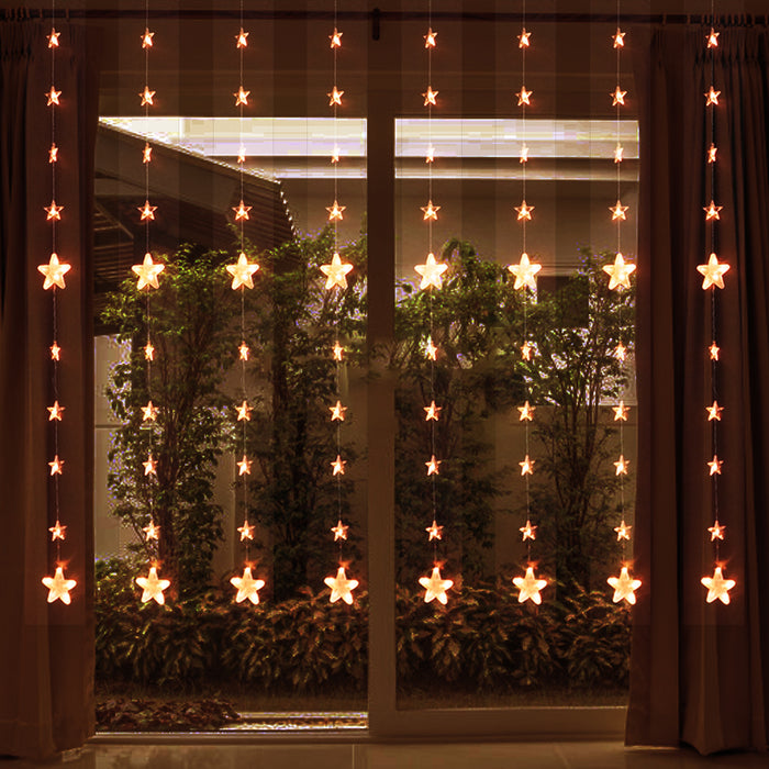 Star Curtain Lights