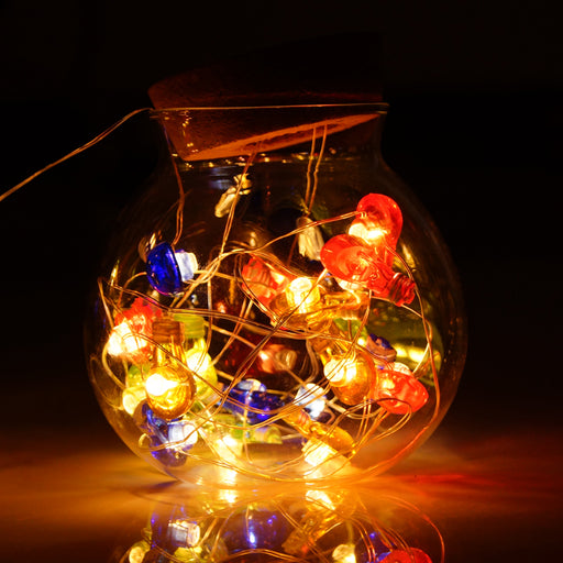 Multi-Color Bulb String Lights