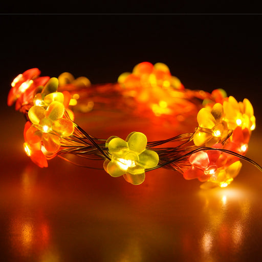 Multi-Color Flower String Lights