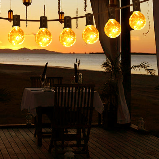LED Outdoor Patio String Lights