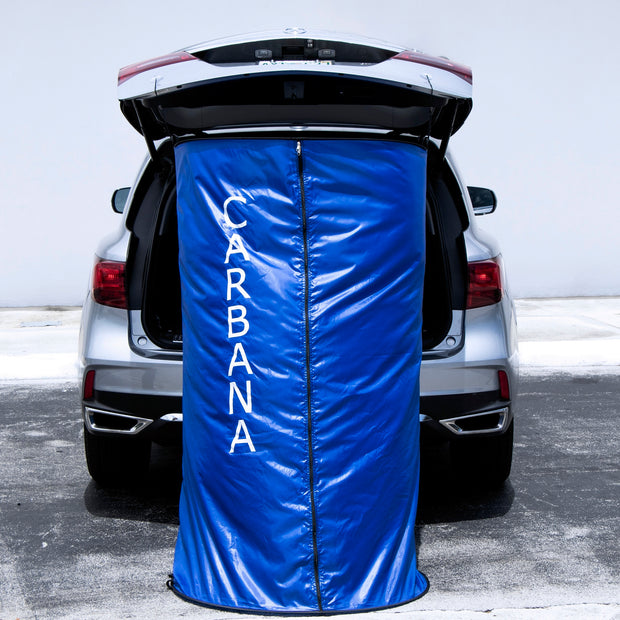 Carbana Sports l Mobile Cabana & Privacy Shelter
