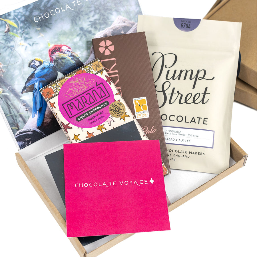 CHOCOLATE VOYAGE MONTHLY SUBSCRIPTION BOX