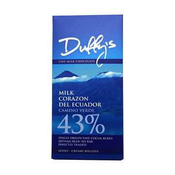 Duffy's Corazon del Ecuador Milk 43%
