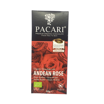 Pacari Chocolate Andean Rose 60%