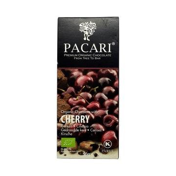 Pacari Ecuador Chocolate with Cherry 60%