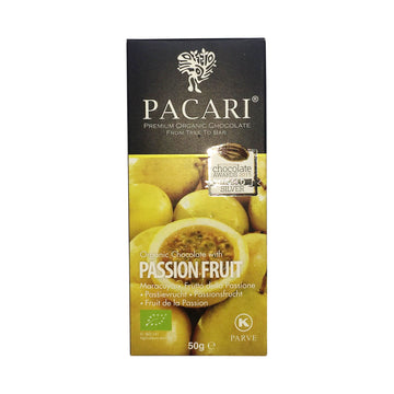 Pacari Organic Chocolate with Passionfruit 48%