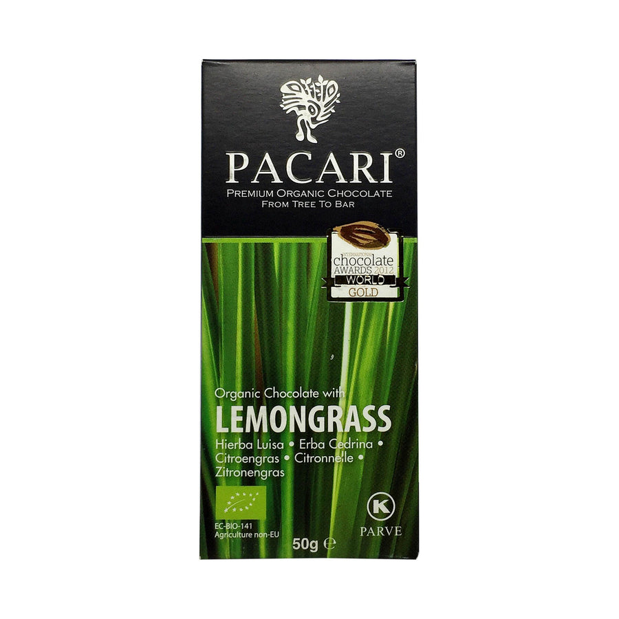 Pacari Organic Chocolate with Lemongrass 60%