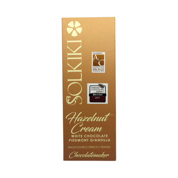 Solkiki 35% Hazelnut Cream - White Gianduja with Piedmont Hazelnuts