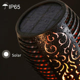 Solar Flame™ LED Flame Torch Lamp