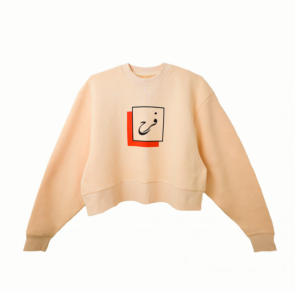JOY crop sweatshirt