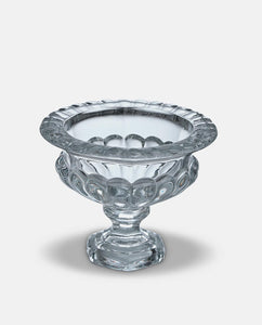 Glass Pedestal Display Bowl - Willow and Grey Interiors