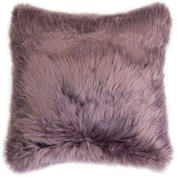 Amethyst Faux Fur Cushion