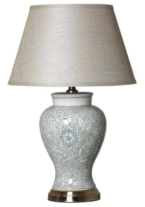 Andrea Floral Patterned Ceramic Lamp