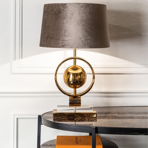 Avril Gold Luxury Lamp