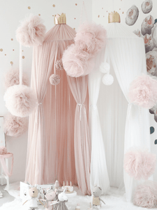 Dreamy Canopy, Light Pink