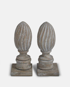 Finial Book Ends