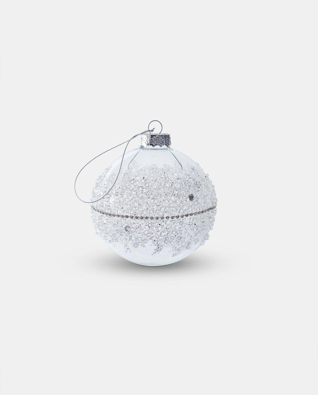 Glass Crystal Bauble - Medium