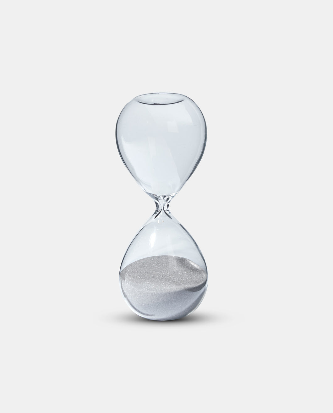 Grey Sand Hour Glass Timer