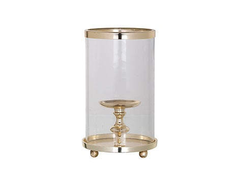 Havily Gold Hurricane Lantern
