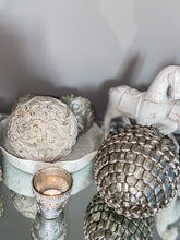 Grey Patterned Decorative Ball