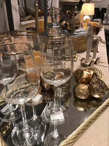 Mirrored display tray, available in gold & silver - Willow and Grey Interiors