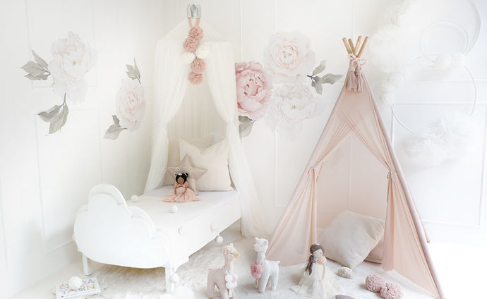 Sheer Teepee in Ballerina Pink