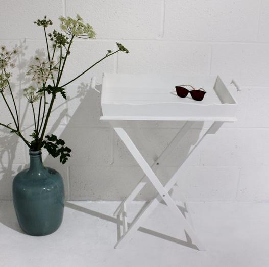 Folding Tray Table - Willow and Grey Interiors