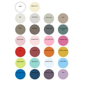 Child's Tent Bed colour swatches
