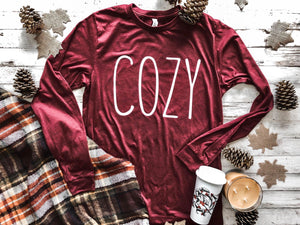 Cozy Long Sleeve Graphic Tee