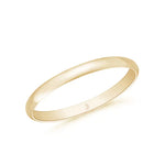 Womens' Dome Wedding Band- High Shine