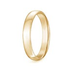Mens' Dome Comfort Fit Wedding Band- High Shine