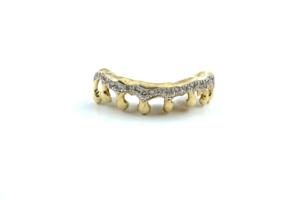 Drip Teeth w/ Diamond Melee