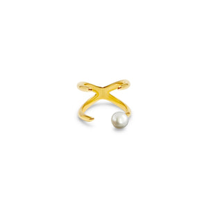Future Baby Knuckle Ring + Pearl