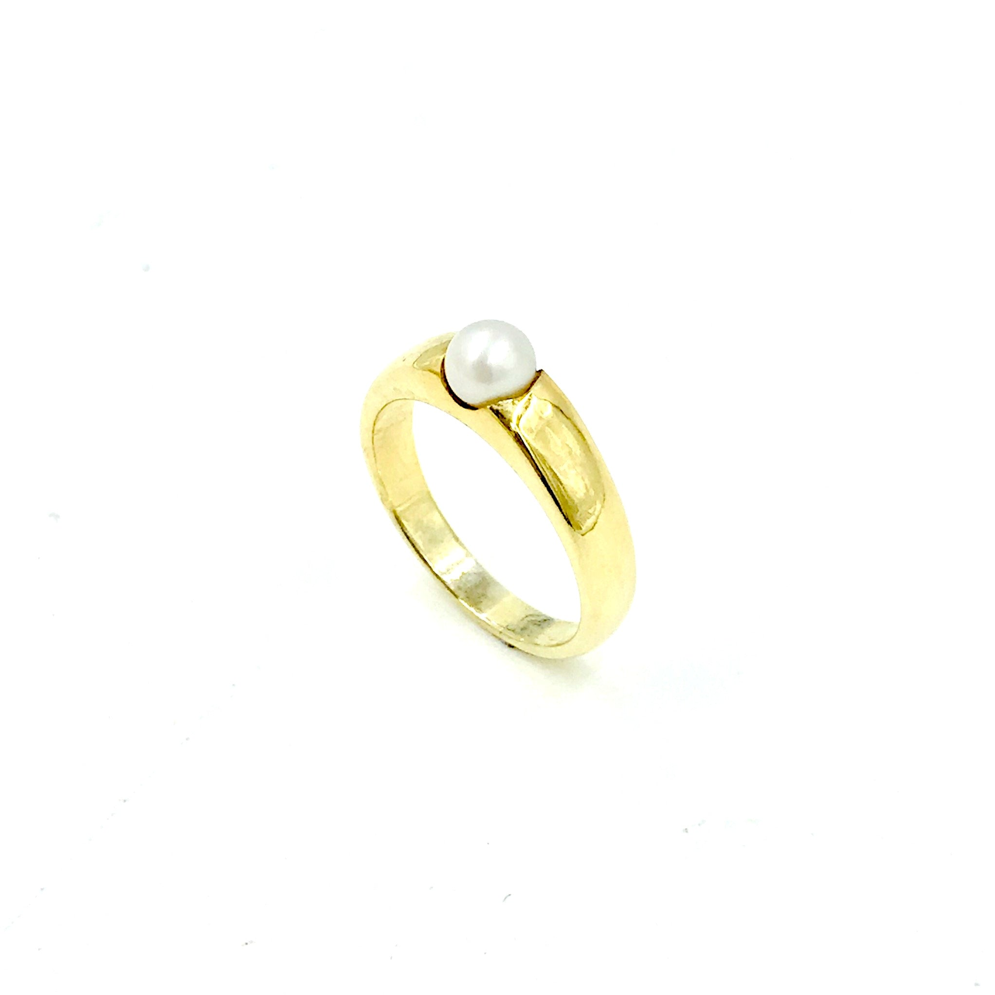 Push Pearl Ring