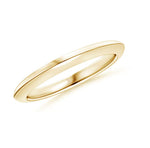 Womens' Knife Edge Wedding Band- High Shine
