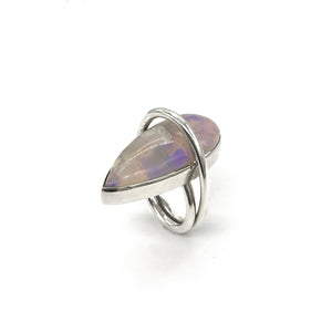 Opal Single Cloud Ring
