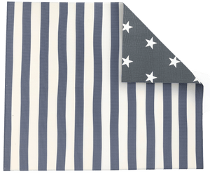 Grey Stripe/ Star Play Mat