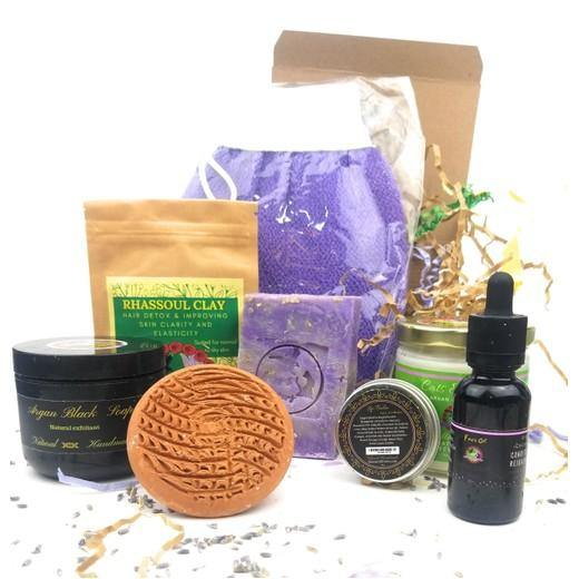 Home Spa: Exfoliating & Moisturizing Set