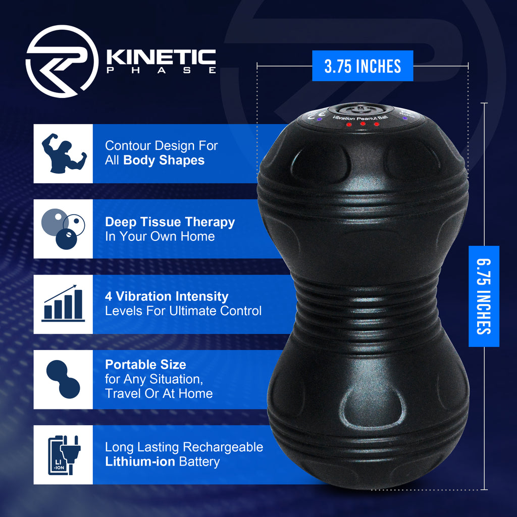 Kinetic Phase Vibrating Fitness Ball